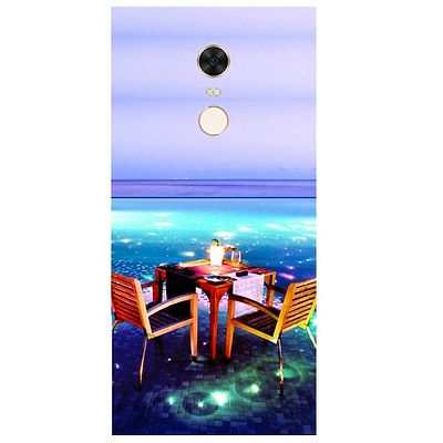 Open Dining Printed Case Cover For Redmi 5 Plus