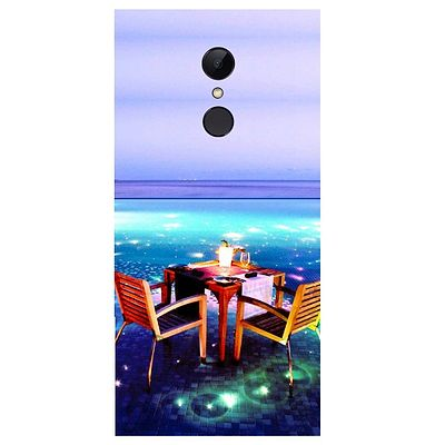 Open Dining Printed Case Cover For Redmi 5