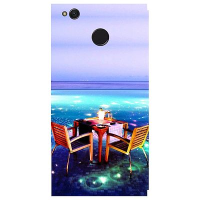 Open Dining Printed Case Cover For Redmi 4