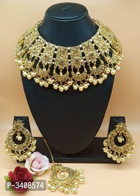 Bridal Alloy Jewellery Set For Women