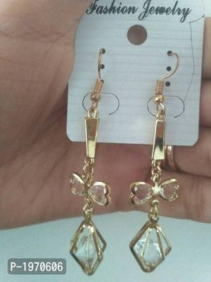 light weighted earrings