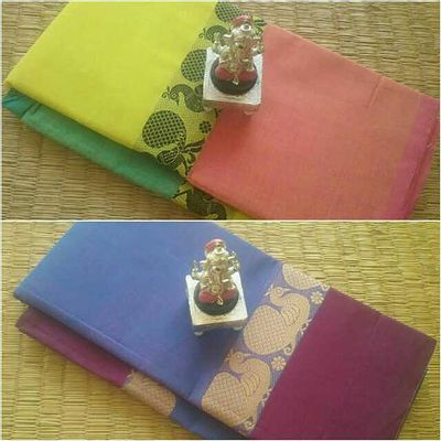 Chettinad Cotton Sarees..buy one get one free