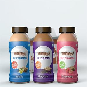 Goodness! Oats Smoothie (Assorted)-Pack of 6