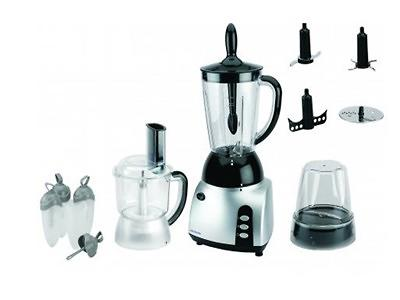 3-IN-1 FOOD PROCESSOR WITH BLENDER