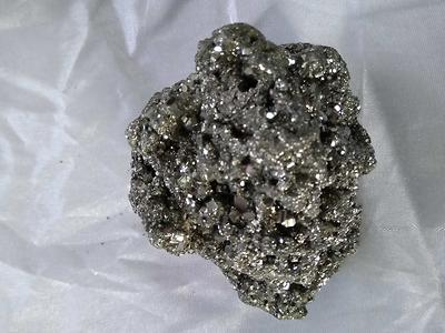 pyrite crystal cluster imported from Peru