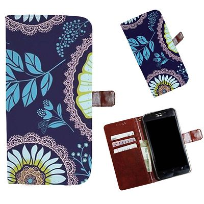 Printed Colorful Pattern Mobile Flip Cover of Panasonic Love T35