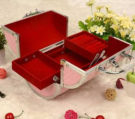 IMPORTED JEWELLERY AND MAKE-UP BOX