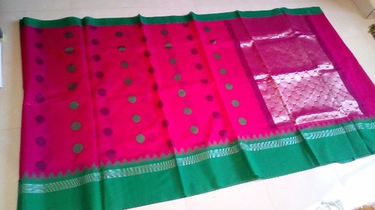 Light weight kuppadam saree