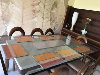 Dining table mats/table runners