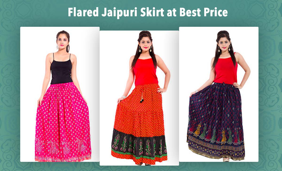 flared-jaipuri-skirt-at-best-price