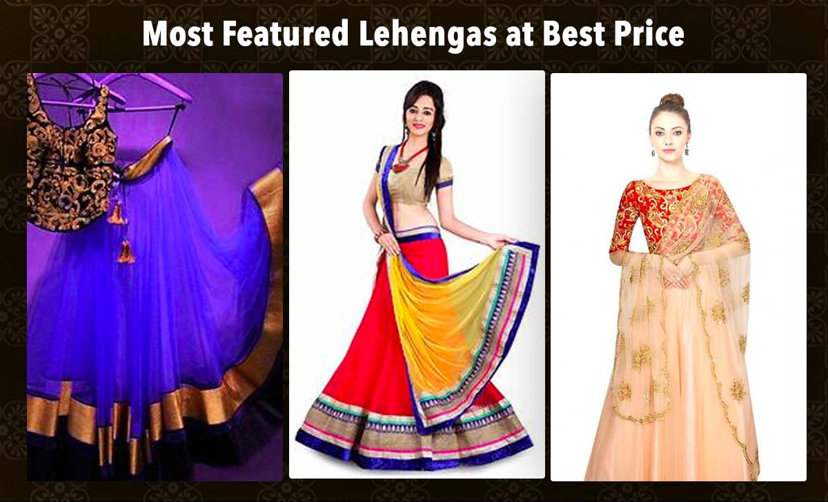 most-featured-lehengas-at-best-price