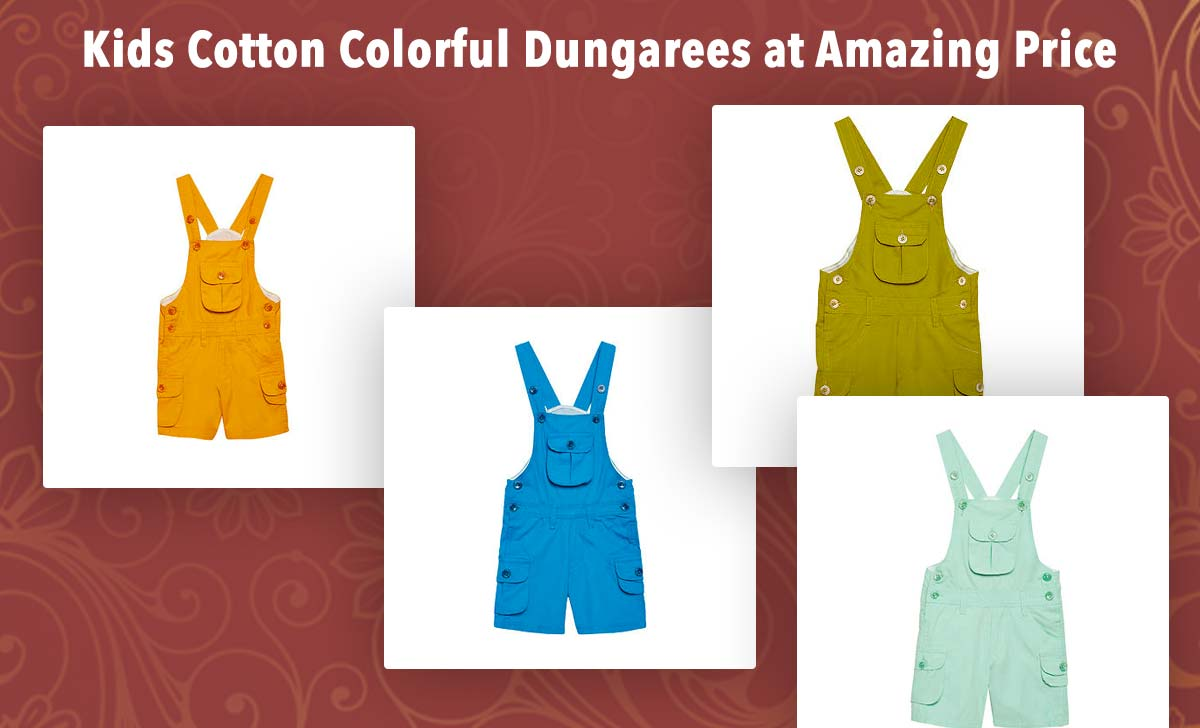 kids-cotton-colorful-dungarees-at-amazing-price