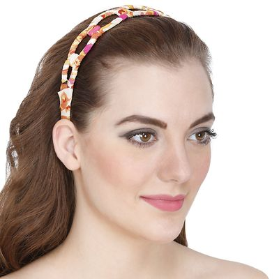 Weekend Casual Multicolor Circle Style Hair Band
