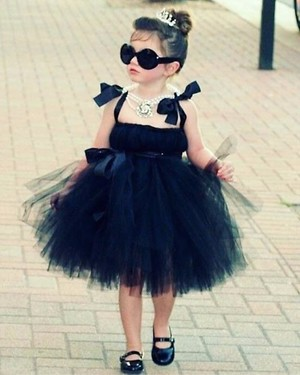 Black tutu frock for 2-10 years