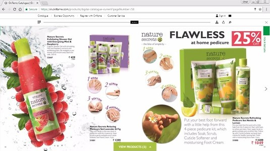July Oriflame Products