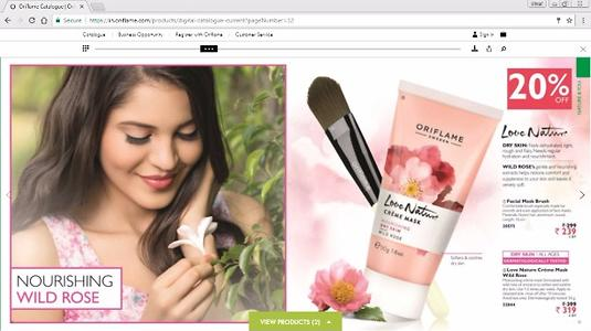 Oriflame August Catalogue