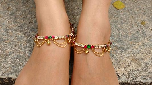 hand made anklets