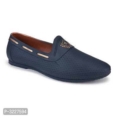 Extra Light Blue Loafers for Men