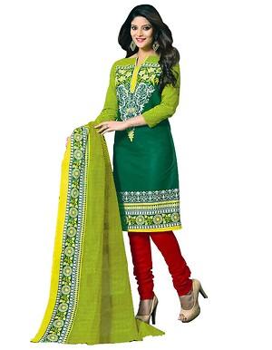 Anushka printed cotton dress material