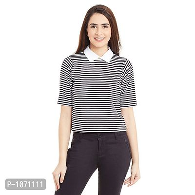 63a3982a068e6 Women Multicoloured Striped Crop Top - Buy latest collections - Page ...