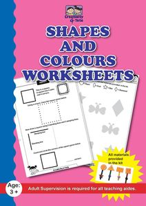 Shapes and colours worksheets