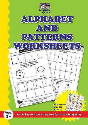 Alphabets and Patterns Worksheets
