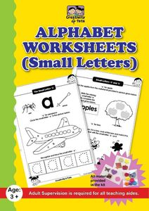 Alphabet Worksheets (Small Letters)