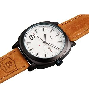 sport lether brown Watch For men