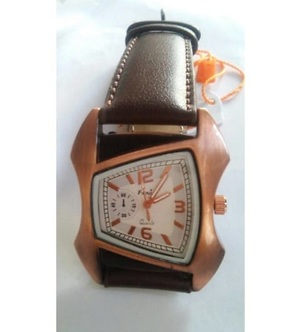 Mens New Latest Designer Sport Look lether watch