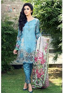 Glazed cotton suit by Sivaanta