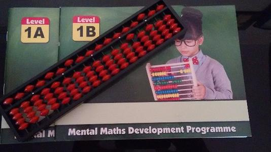 Abacus book - Senior level with 17 rod tool - Set of A & B books