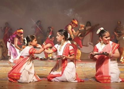 Bengali girl costume