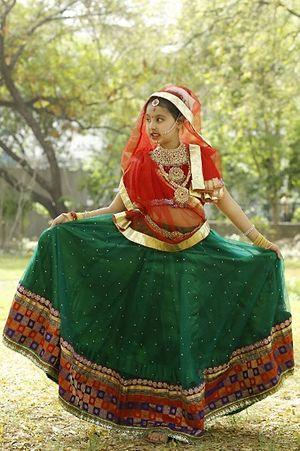 Radha costume