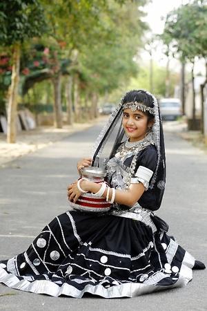 Kalbeliya dance costume