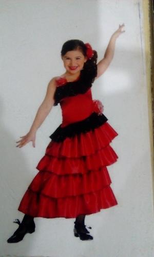 Tango dance costume