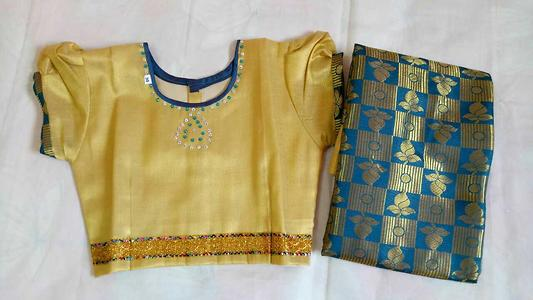 ready made saree for kids