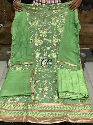 Georgette embroidered