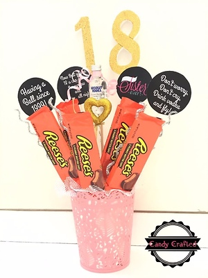 Alcohol / chocolate bouquets
