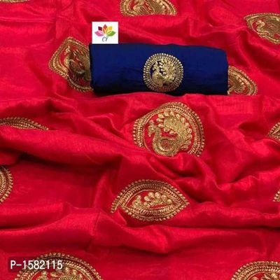 Best seller Two tone sana silk embroidered saree