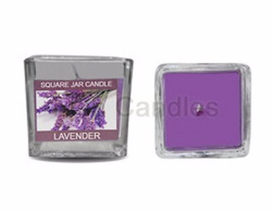 Fragrance Glass Candles - set of 2