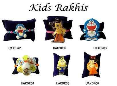 Exclusive Kids Rakhis - set of 10 assorted Rakhis