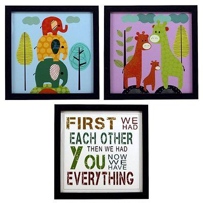 Multicoloured Kids Paintings