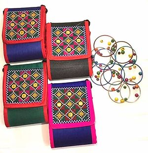Mobile and Card Holder Pouch