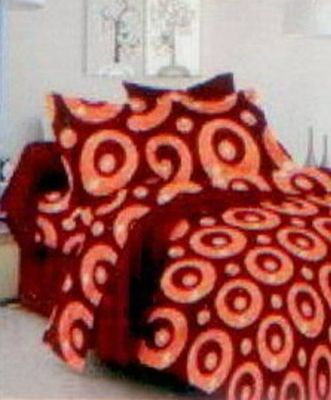 Great Cotton Double Bedsheets With Two Pillow Covers And Book Fold Packing