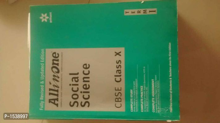 All in one social science term 1 class 10