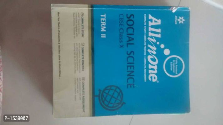 All in one social science term 2 class 10