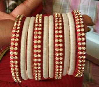 Beautiful silk tread sets all r different prices hurry up ping me 9071013799 colors can be customized on orders.