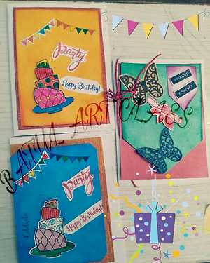 handmade greeting cards and invitation cards