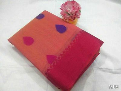 ​Mahalakshmi sarees​  sellers broadcast message  Kotta cotton sarees, Grand pallu Running blouse  Ready to dispatch.   Tsw