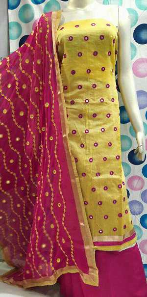 Mirror work salwar